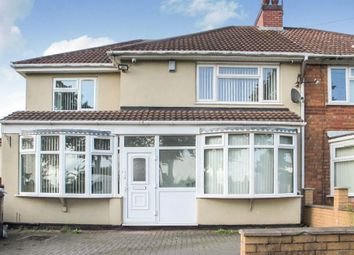 Thumbnail 4 bed semi-detached house for sale in Hob Moor Road, Yardley, Birmingham