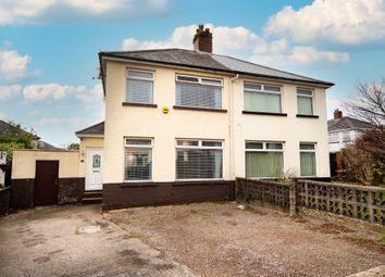 Thumbnail 2 bed semi-detached house for sale in Ty Fry Gardens, Rumney, Cardiff