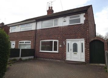 Thumbnail 3 bed semi-detached house to rent in Lighthorne Road, Stockport