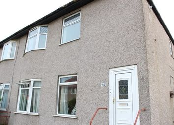 Thumbnail 3 bed flat to rent in Ashcroft Drive, Glasgow