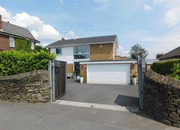 Thumbnail 4 bed detached house for sale in Barrack Hill, Romiley, Stockport