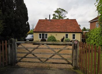 Thumbnail 3 bedroom detached bungalow for sale in Rectory Road, Dickleburgh, Diss