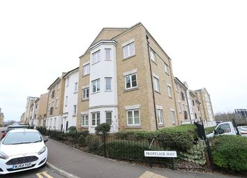 Thumbnail 2 bed flat for sale in Propelair Way, Colchester, Essex