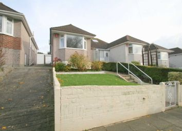 Thumbnail 3 bed semi-detached bungalow for sale in Vicarage Gardens, Plymouth