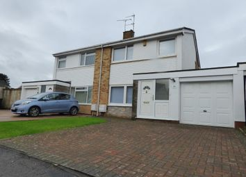 Thumbnail 3 bedroom semi-detached house to rent in Burrough Way, Winterbourne, Bristol