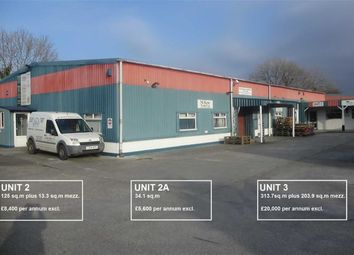 Thumbnail Light industrial to let in Units 2, 2A And 3, Knights Business Centre, Wadebridge