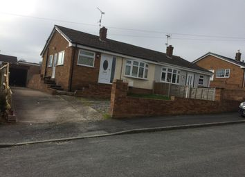 Thumbnail 2 bed semi-detached bungalow for sale in Cadnant Drive, Bagillt, Flintshire