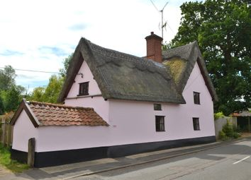 Thumbnail 3 bed cottage for sale in High Road, Needham, Harleston