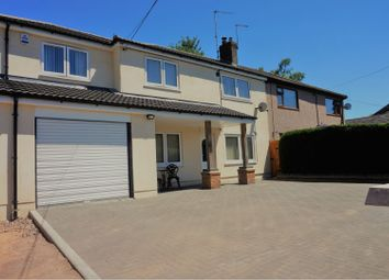 Thumbnail 4 bed semi-detached house for sale in Viaduct Road, Pontypool