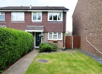 Thumbnail 3 bedroom end terrace house for sale in Drake Road, Chessington