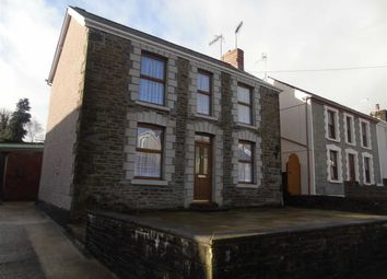 Thumbnail 3 bed detached house for sale in Station Road, Glais, Swansea