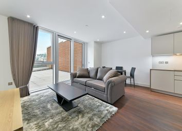 Thumbnail 1 bed flat to rent in Haydn Tower, Nine Elms Point, London