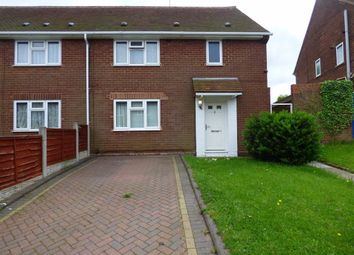 Thumbnail 1 bed flat for sale in Snape Road, Wednesfield, Wolverhampton