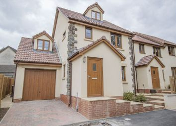 Thumbnail 4 bedroom detached house for sale in The Sidings, Clutton, Bristol