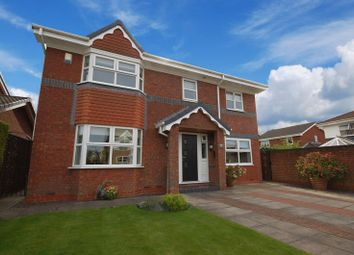 Thumbnail 4 bed detached house for sale in Oakfield Drive, Killingworth, Newcastle Upon Tyne