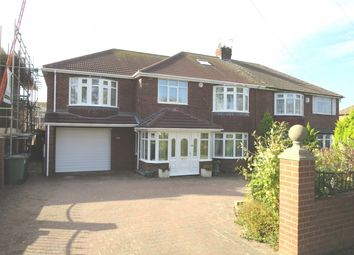 Thumbnail 4 bed semi-detached house for sale in King George Road, South Shields, Tyne And Wear