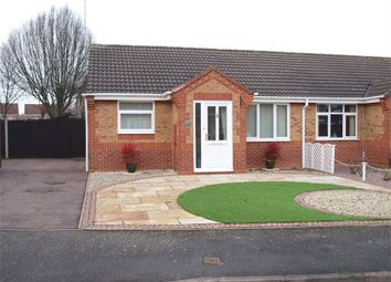 Thumbnail 2 bed semi-detached bungalow for sale in Sedgefield Road, Branston, Burton-On-Trent, Staffordshire