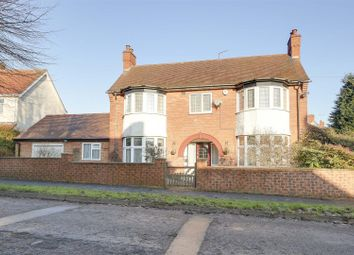 Thumbnail 4 bed detached house for sale in Windmill Avenue, Hucknall, Nottinghamshire