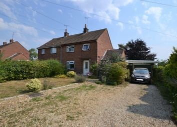 Thumbnail 3 bed semi-detached house for sale in Groveside, East Rudham, King's Lynn