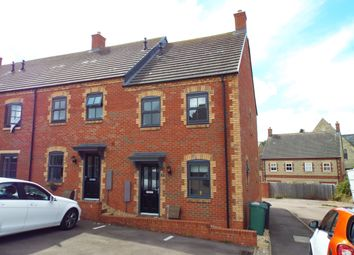 Thumbnail 3 bed end terrace house for sale in Bosgate Close, Bozeat, Northamptonshire