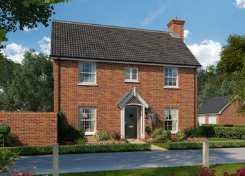 Thumbnail 4 bed link-detached house for sale in Harwich Road, Mistley, Manningtree, Essex