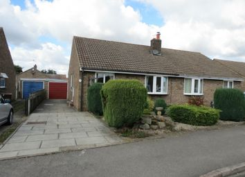 Thumbnail 2 bed semi-detached bungalow to rent in Long Meadows, Rillington