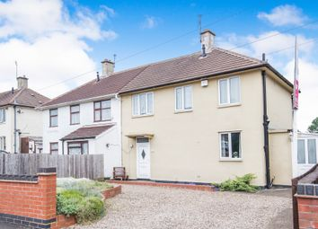 Thumbnail 3 bed semi-detached house for sale in Hattern Avenue, Stocking Farm, Leicester