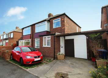 Thumbnail 3 bed semi-detached house for sale in Highfield Road, Redcar, Cleveland