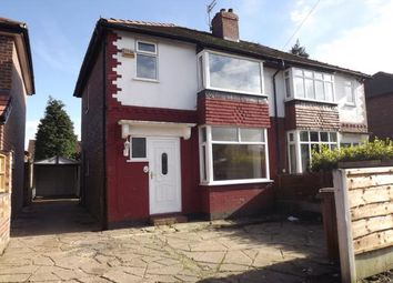 Thumbnail 3 bed semi-detached house for sale in Gowerdale Road, Brinnington, Stockport, Greater Manchester