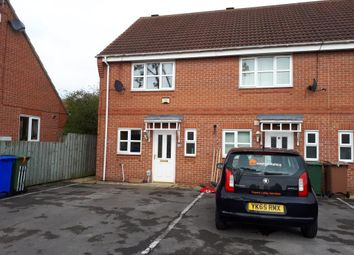 Thumbnail 2 bed terraced house to rent in Brumfield Court, Beverley