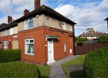 Thumbnail 2 bedroom end terrace house for sale in Ronksley Road, Sheffield