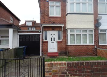 Thumbnail 4 bed semi-detached house to rent in Ewbank Avenue, Fenham, Newcastle Upon Tyne