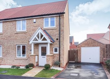 Thumbnail 3 bed semi-detached house for sale in Glen Road, Loughborough