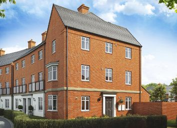 "Thumbnail 4 bedroom end terrace house for sale in ""Parkin"" at Broughton Crossing, Broughton, Aylesbury"