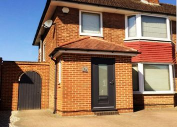 Thumbnail 4 bed semi-detached house for sale in Featherstone Gardens, Borehamwood