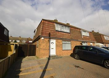 Thumbnail 3 bed semi-detached house for sale in Wylie Road, Hoo, Rochester