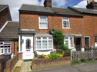 Thumbnail 2 bed terraced house for sale in Alleyns Road, Stevenage