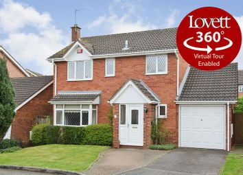 Thumbnail 4 bed detached house for sale in Carmichael Close, Boley Park, Lichfield