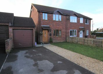 Thumbnail 3 bed semi-detached house for sale in Manor Gardens, Kewstoke, Weston-Super-Mare