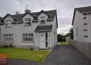 Thumbnail 3 bed semi-detached house for sale in Bawnmore, Bellaghy