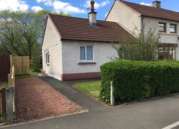 Thumbnail 1 bed semi-detached house to rent in Baillie Drive, Bothwell