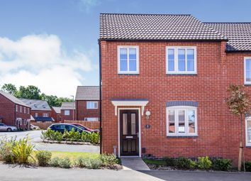 Thumbnail 3 bed semi-detached house for sale in Wheelband Way, Scraptoft, Leicester