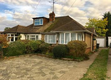 Thumbnail 2 bed bungalow for sale in Traherne Close, Hitchin, Hertfordshire
