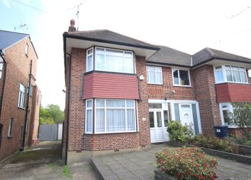 Thumbnail 3 bed semi-detached house for sale in Thornfield Avenue, Mill Hill, London