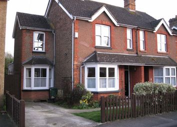 Thumbnail 3 bed semi-detached house to rent in Queens Road, Horley