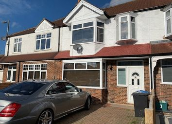 Thumbnail 3 bed terraced house to rent in Meadow Close, London