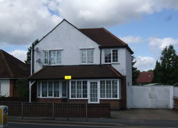 Thumbnail 3 bed detached house to rent in St Albans Road, Watford