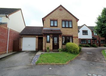 Thumbnail 3 bed detached house for sale in Charles Melrose Close, Mildenhall, Bury St. Edmunds