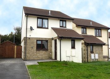 Thumbnail 3 bed detached house for sale in Tredinnick Wood Close, Helston