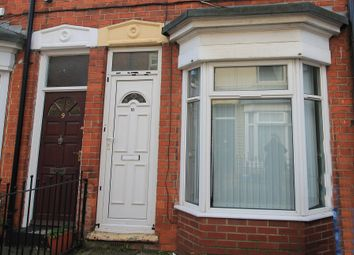 Thumbnail 2 bed terraced house for sale in Glencoe Villas, New Bridge Road, Hull